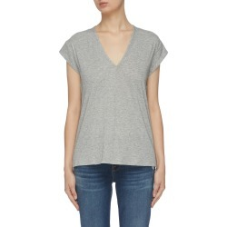 Mid rise V neck T-shirt found on Bargain Bro India from Lane Crawford-US for $90.00