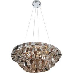 Allegri Gehry 8 Light Pendants in Chrome 026350-010-FR000