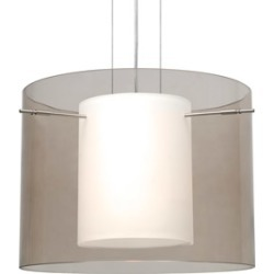 Besa Lighting Pahu 16 1 Light Pendants in Satin Nickel 1KG-S00707-SN