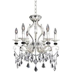 Allegri Donizetti 6 Light Pendants in Two-Tone Silver 025141-017-FR001