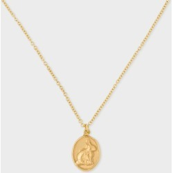 Alex Monroe + Paul Smith - 18ct Gold 'Bunny' Pendant Chain Necklace found on MODAPINS from Paul Smith Ltd for USD $818.66