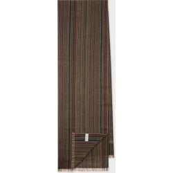 Men's Signature Stripe Mercerised Wool Scarf found on Bargain Bro UK from Paul Smith Ltd