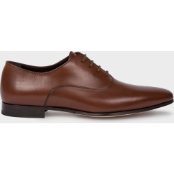 Men's Dark Tan 'Fleming' Calf Leather Oxford Shoes found on Bargain Bro UK from Paul Smith Ltd