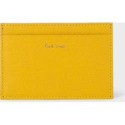 Mustard Leather Credit Card Holder found on MODAPINS from Paul Smith Ltd for USD $141.07