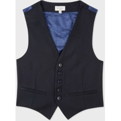 2-6 Years Navy 'A Suit To Smile In' Wool Waistcoat found on Bargain Bro UK from Paul Smith Ltd
