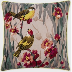 Paul Smith For The Rug Company - 'Birdie Blossom' Wool Tapestry Cushion found on Bargain Bro UK from Paul Smith Ltd