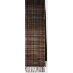 Men's Mixed Signature Stripe And Check Wool Scarf found on Bargain Bro UK from Paul Smith Ltd