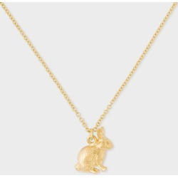 Alex Monroe + Paul Smith - 18ct Gold Small 'Bunny' Chain Necklace found on MODAPINS from Paul Smith Ltd for USD $956.25