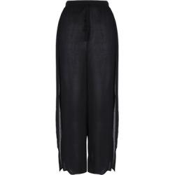 Womens Black Split Leg Trousers found on Bargain Bro UK from peacocks.co.uk