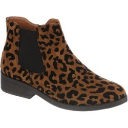 Womens Tan Leopard Chelsea Boots found on Bargain Bro UK from peacocks.co.uk