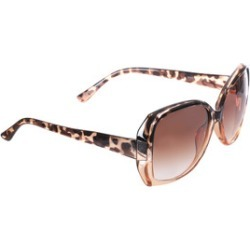Womens Brown Oversized Tortoiseshell Sunglasses found on Bargain Bro UK from peacocks.co.uk