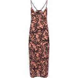 Womens Orange Palm Trapeze Dress found on Bargain Bro UK from peacocks.co.uk