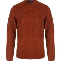 Mens Rust Crew Neck Jumper found on MODAPINS from peacocks.co.uk for USD $22.54