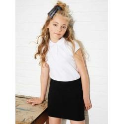 Girls Black Tube School Skirt found on Bargain Bro UK from peacocks.co.uk