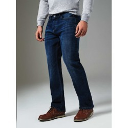 Mens Dark Blue Bootcut Jeans found on MODAPINS from peacocks.co.uk for USD $22.54