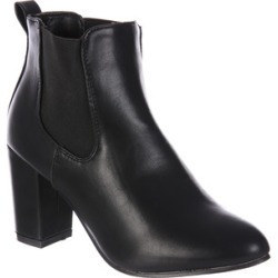 Womens Black Heeled Chelsea Boots found on Bargain Bro UK from peacocks.co.uk