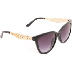 Womens Black Cat Eye Sunglasses found on Bargain Bro UK from peacocks.co.uk