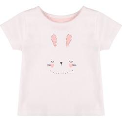 Baby Girls White Bunny T-Shirt found on Bargain Bro UK from peacocks.co.uk