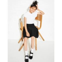 Older Girls Black Pleated School Skirt found on Bargain Bro UK from peacocks.co.uk