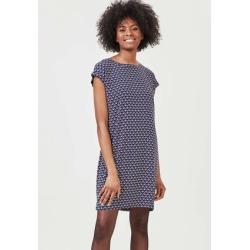 Womens Blue Geo Shift Dress found on Bargain Bro UK from peacocks.co.uk