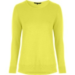 Womens Lime Yellow Crew Neck Jumper found on Bargain Bro UK from peacocks.co.uk