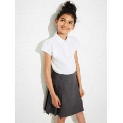 Girls Grey Pleated School Skirt found on Bargain Bro UK from peacocks.co.uk