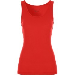 Womens Red Ribbed Vest Top found on Bargain Bro UK from peacocks.co.uk
