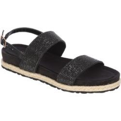 Womens Black Bling Espadrille Sandals found on Bargain Bro UK from peacocks.co.uk