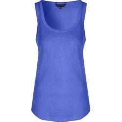 Womens Blue Linen Look Vest found on Bargain Bro UK from peacocks.co.uk