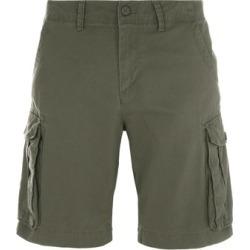 Mens Khaki Cargo Shorts