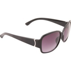 Womens Black Square Sunglasses found on Bargain Bro UK from peacocks.co.uk