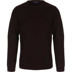 Mens Plum Crew Neck Jumper found on MODAPINS from peacocks.co.uk for USD $22.54