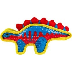 Ruffer And Tuffer Tpr Stegosaurus Squeaky Dog Toy found on Bargain Bro UK from Pets at Home