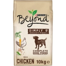 Beyond Simply 9 Dry Dog Food Rich In Chicken 10Kg