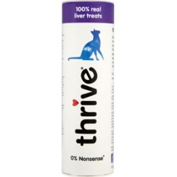 Thrive 100% Chicken Liver Cat Treats 25G found on Bargain Bro UK from Pets at Home