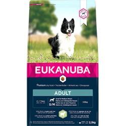 Eukanuba Dry Adult Dog Food Small/Medium Breed Rich In Lamb, Rice & Turmeric 2.5Kg