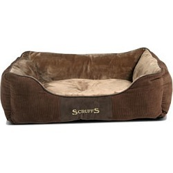 Scruffs Super Soft Luxurious Chester Dog Box Bed Chocolate Large found on Bargain Bro UK from Pets at Home