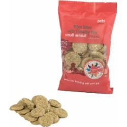 Pets at Home Fibre Bites with Timothy Hay Small Animal Treats 80g