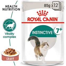 Royal Canin Instinctive In Gravy Cat Food 12 X 85G found on Bargain Bro UK from Pets at Home