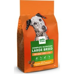 Pets At Home Complete Nutrition Large Breed Adult Dog Food Rich In Chicken 6Kg