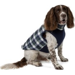 Wag-A-Tude Green Plaid Large Dog Jacket