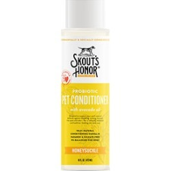 Skout's Honor Probiotic Conditioner For Dogs And Cats Honeysuckle 470Ml