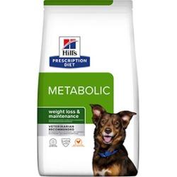 Hill's Prescription Diet Canine Metabolic Dog Food 4Kg
