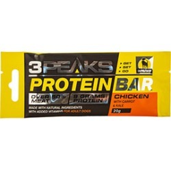3 Peaks Adult Dog Protein Bar Chicken With Carrot And Kale 20G