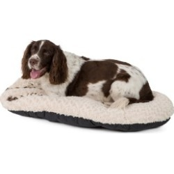 Pets At Home Fur Perla Oval Cushion Dog Bed X Large/Xx Large Cream found on Bargain Bro UK from Pets at Home