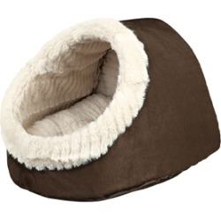 Trixie Cuddly Dog And Cat Cave Brown Small