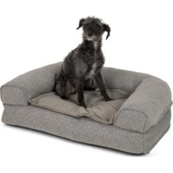 Pets At Home Linen Bolstered Dog Bed Grey found on Bargain Bro UK from Pets at Home