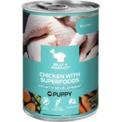 Billy Margot Chicken With Superfoods Wet Puppy Food Canned 395G