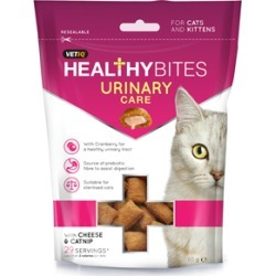 Vetiq Healthy Bites Urinary Care Cat And Kitten Treats 65G found on Bargain Bro UK from Pets at Home