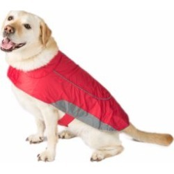 Ripstop Dog Jacket Red Large